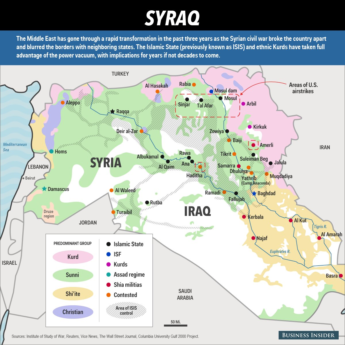 "Carte Syrie - Iraq mise<small class=""fine""> </small>? jour"